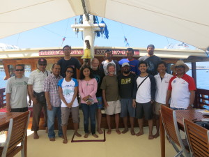 Rapid Ecological Assessement Team Expedition Savu Sea National park